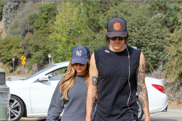 Ashley Tisdale Christopher French Christopher French and Ashley Tisdale Go on a Hike