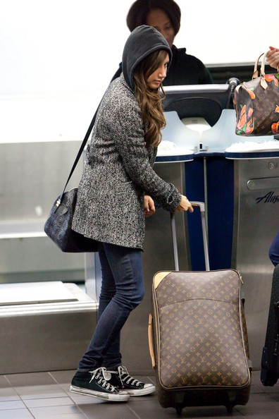 Ashley Tisdale Canvas Suitcase