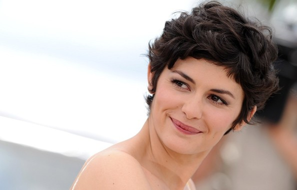 Pixie Cut Audrey Tautou | Wedding Hairstyles For Short Hair