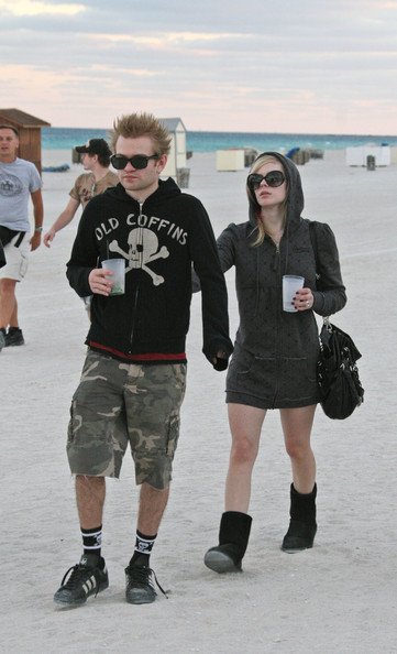 Avril Lavigne Sheepskin Boots