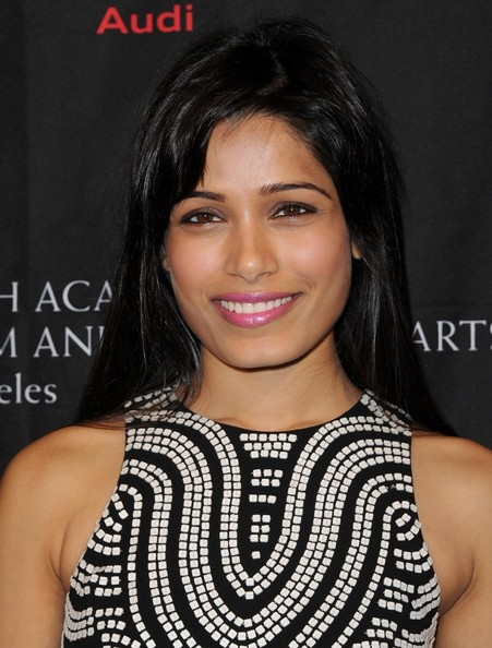 More Pics of Freida Pinto Leather Clutch (1 of 7) - Freida Pinto Lookbook - StyleBistro