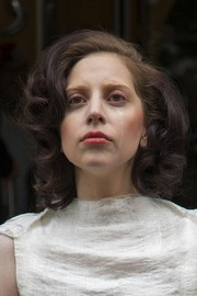 Lady Gaga sported a classic curled-out bob while out in London.