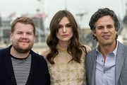 All eyes were on Keira Knightley and her oh-so-perfect hair at the 'Begin Again' press event.