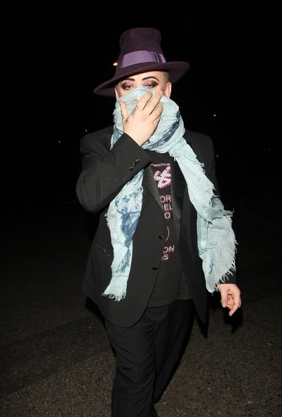 More Pics of Boy George Fedora (1 of 4) - Dress Hats Lookbook - StyleBistro []