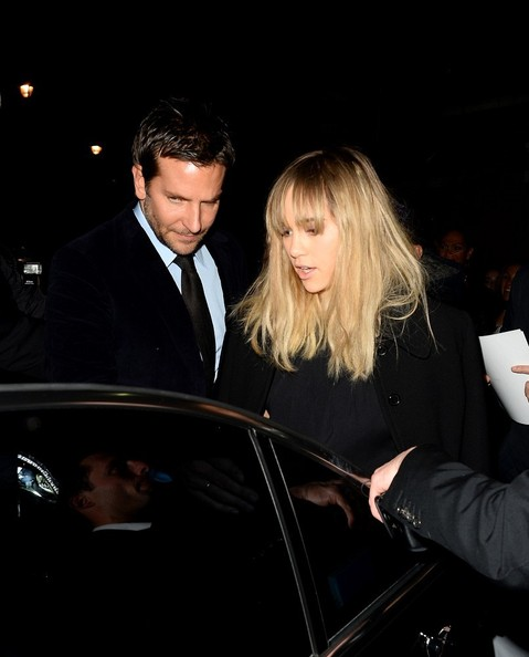 Bradley Cooper and Suki Waterhouse Out in London
