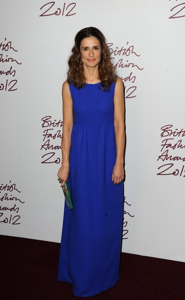 Livia Firth at the 2012 British Fashion Awards