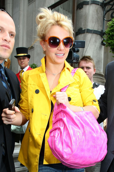 Britney Spears Oversized Sunglasses