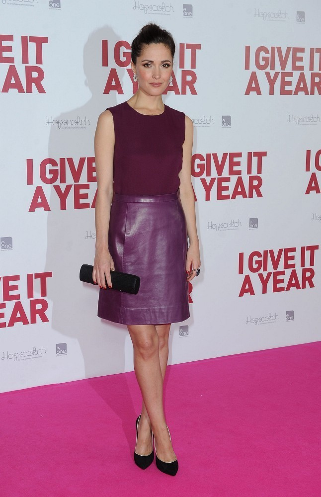 Rose Byrne at the 'I Give It a Year' Premiere