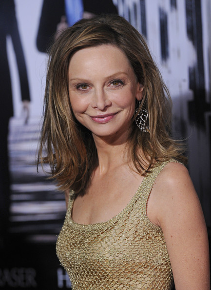 Calista Flockhart Medium Straight Cut