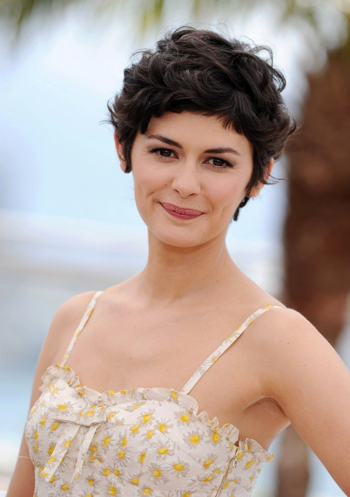 More Pics Of Audrey Tautou Messy Cut 9 Of 17 Short Hairstyles