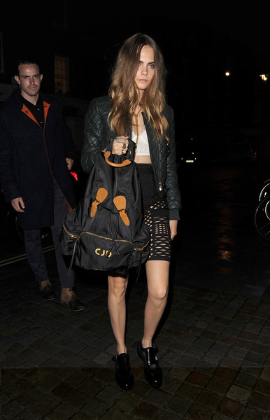 Cara Delevingne Designer Backpack