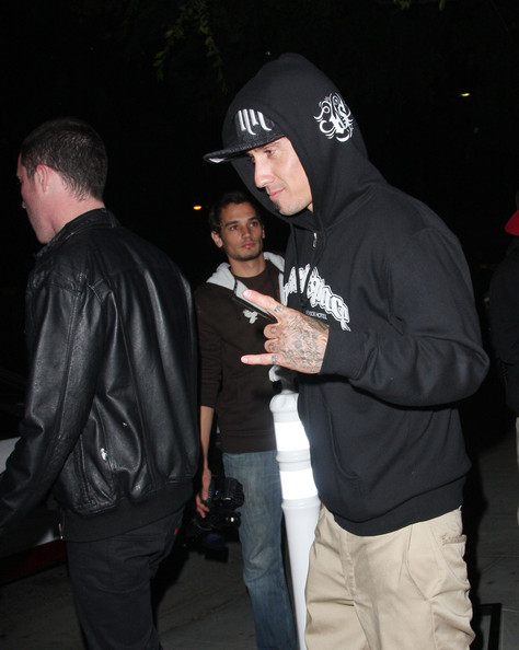 Carey Hart Beauty Celebrities party at new West Hollywood hotspot Crown Bar