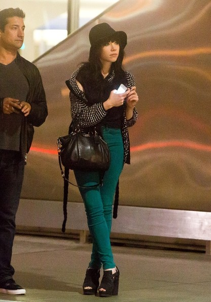 Carly Rae Jepsen Arrives in LA