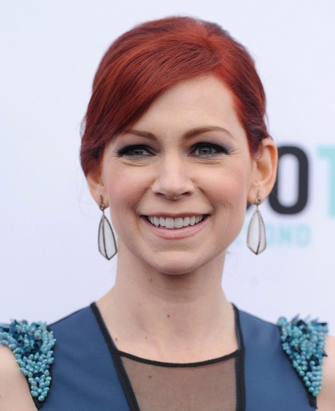 Carrie Preston Bobby Pinned Updo