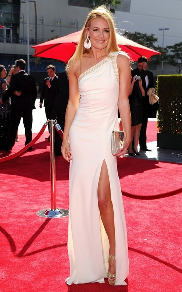 Cat Deeley One Shoulder Dress