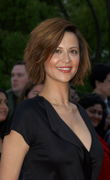Catherine Bell Layered Razor Cut