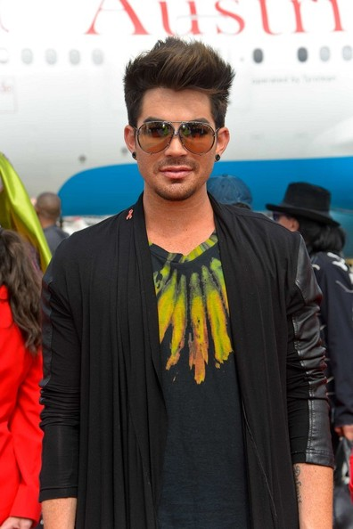 More Pics of Adam Lambert Cardigan (1 of 3) - Cardigan Lookbook - StyleBistro