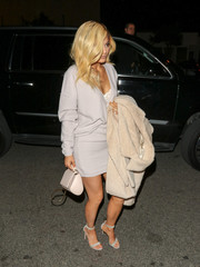 For her bag, Kylie Jenner chose a nude Givenchy Pandora mini satchel.
