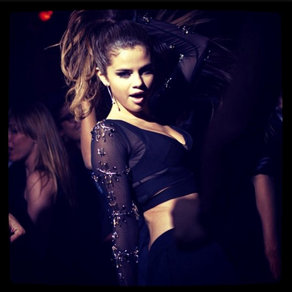 Selena Gomez Gets Down