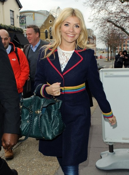 More Pics of Holly Willoughby Wool Coat (5 of 5) - Wool Coat Lookbook - StyleBistro