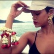 Rihanna Rocks Some Fierce Earrings