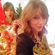 Taylor Swift and Hailee Steinfeld Get in the Christmas Spirit