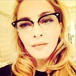 Madonna Puts On Retro Spectacles