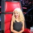 Christina Aguilera Sits in the Judges Chair