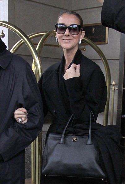 Celine Dion Leather Tote