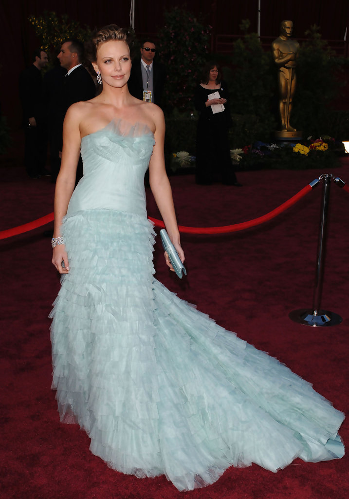 Charlize Theron Evening Dress Charlize Theron Looks