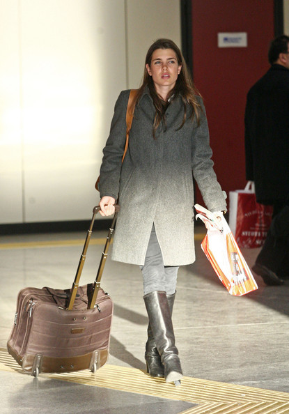Charlotte Casiraghi Knee High Boots