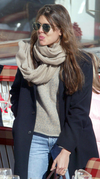 Charlotte Casiraghi Aviator Sunglasses