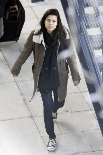 More Pics of Charlotte Casiraghi Patterned Scarf (1 of 4) - Charlotte Casiraghi Lookbook - StyleBistro