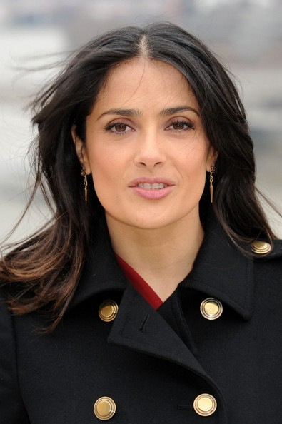 More Pics of Salma Hayek Layered Cut (2 of 30) - Long Hairstyles Lookbook - StyleBistro