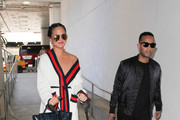 Chrissy Teigen Leather Tote