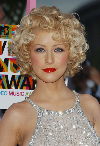 Christina Aguilera Body Art