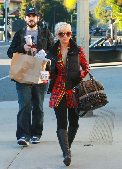Christina Aguilera Leather Tote