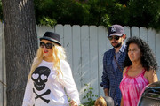 Christina Aguilera and Jordan Bratman Photo