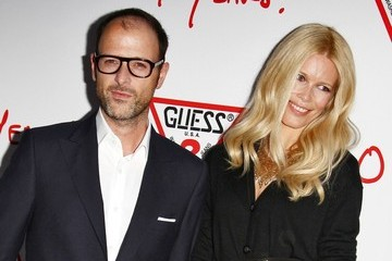 Claudia Schiffer Matthew Vaughn Celebs at the Guess Cocktail Party
