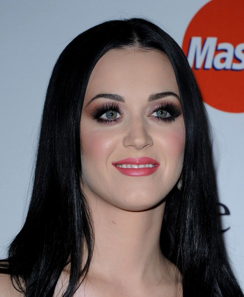 More Pics of Katy Perry Long Straight Cut (3 of 14) - Katy Perry Lookbook - StyleBistro []