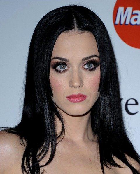 More Pics of Katy Perry Long Straight Cut (5 of 14) - Katy Perry Lookbook - StyleBistro []