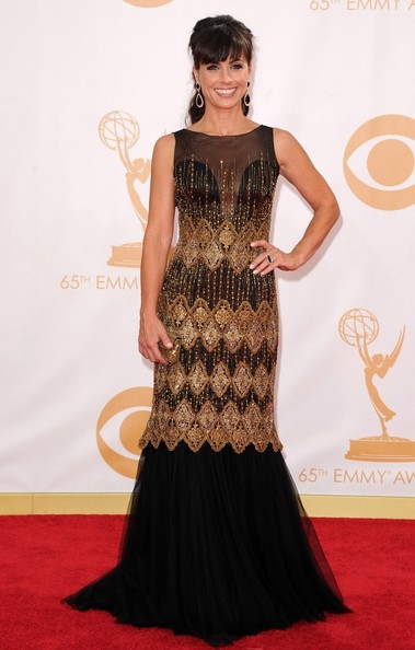 Constance Zimmer Beaded Dress