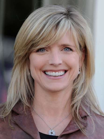 Courtney Thorne-Smith Medium Straight Cut with Bangs