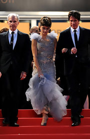 Penelope Cruz was a beauty in a lilac confection at the Cannes Film Festival.