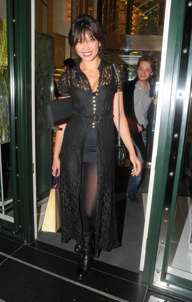 Daisy Lowe Lace Dress []