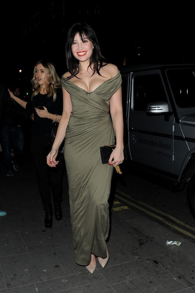 Daisy Lowe Off-the-Shoulder Dress []