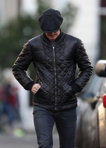 David Beckham Newsboy Cap