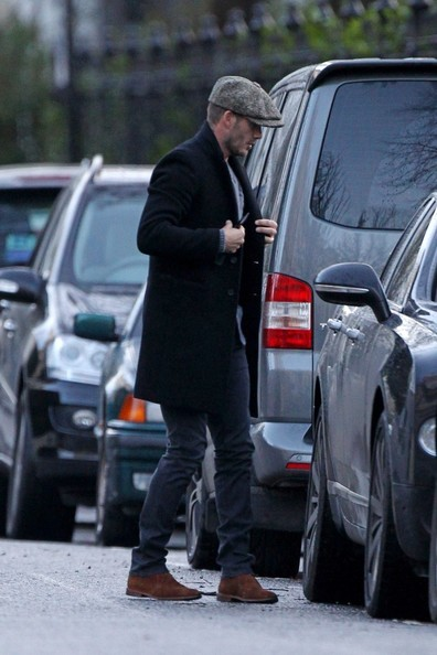 David Beckham Spotted in London