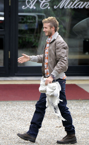 David Beckham Cropped Jacket