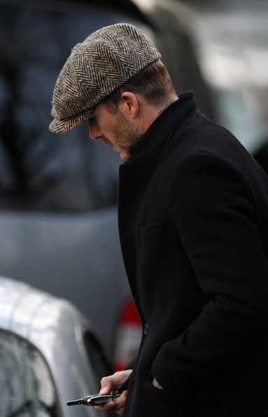 More Pics of David Beckham Newsboy Cap (3 of 16) - David Beckham Lookbook - StyleBistro
